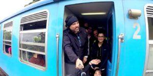 Viaje en tren desde Nuwara Eliya a Haputale