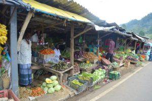 Haputale, mercado