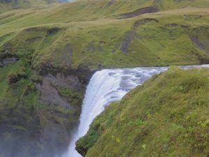 Cascada Skogafoss, Islandia