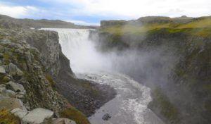 Cascada Detifoss, Islandia