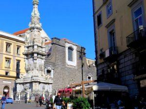 Nápoles, Piazza del Gessú Nuovo