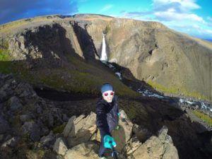 Litlanesfoss, en ruta por Islandia