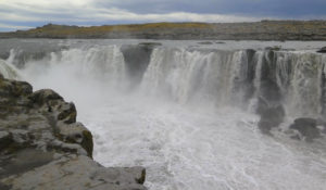 Cascada Selfoss, Ruta por Islandia