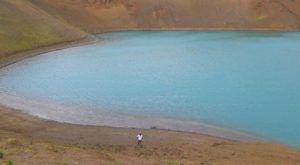Cráter de Stora-Viti, Islandia