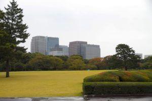 Palacio Imperial, explanada imperial, Tokyo