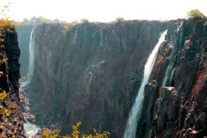 Cataratas Victoria, en epoca seca