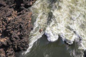 Puente de las Cataratas Victoria, saltos de bungee jumping
