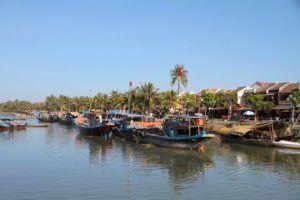 Hoi An, rio Thu Bon