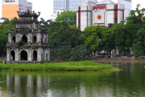 Torre de la Tortuga, Hanoi