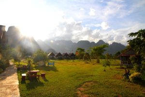 Vang Vieng, el paraiso mochilero de Laos