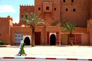 Avenida Mohamed V, Ouarzazate, Marruecos