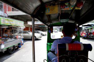 Tuk tuk por Bangkok