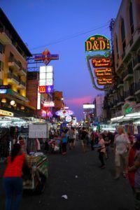 Khao Sand Road, Bangkok