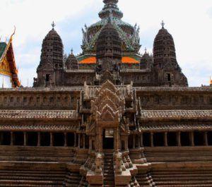 Réplica de las ruinas del Angkor Wat
