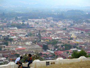 Vistas desde el Cerro de la Cruz, Antigua Guatemala