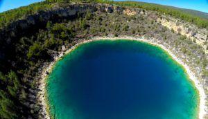 La increíble Laguna del Tejo a vista de Dron