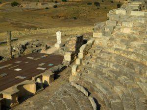 Teatro de Segóbriga, Cuenca