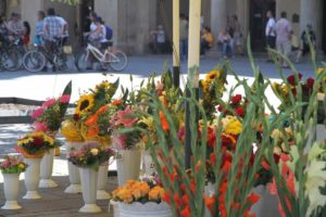 Lonja de los Paños o Sukiennice, Cracovia, Polonia