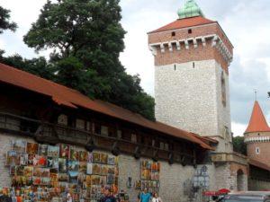 Muralla de Cracovia, Polonia