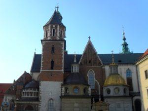 La colina de Wavel, Cracovia