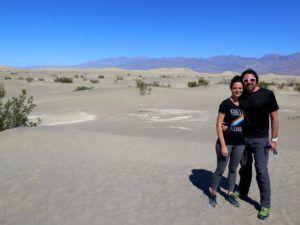 Nómadas en las dunas de Mesquita Flat