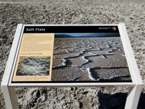El salar de Badwater Basin, Death Valley