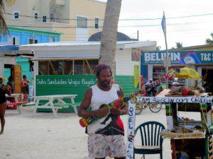 El reggae esta muy presente en Cayo Caulker