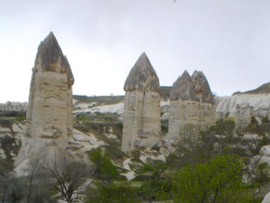Valle, del Amor, La Capadocia, Turquia