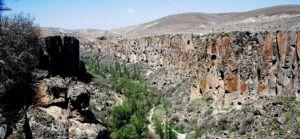 El Valle de Ihlara, La Capadocia, Turquia