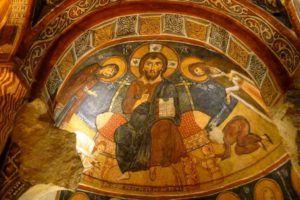 Iglesia Oscura, La Capadocia, Turquia