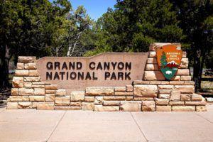 Entrada al Parque Nacional del Gran Cañón