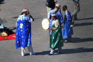 Plaza de Jamaa el Fna por el día, Marrakech