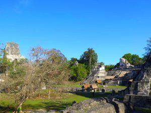 Alrededores de La Gran Plaza de Tikal, Guatemala