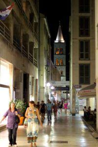 Vida nocturna en Zadar, Croacia