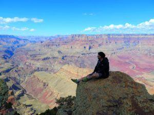 Nómada en el Gran Cañon del Colorado, EEUU