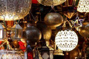 El Zoco de Marrakech, Marruecos