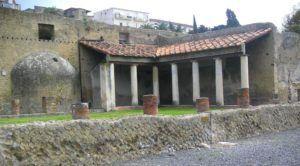 La Palestra de Herculano, Nápoles