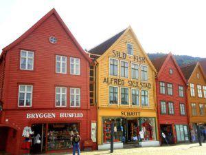 Muelle de Bergen, Noruega