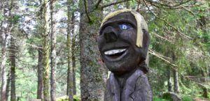Elfos por los bosques de Bergen, Noruega