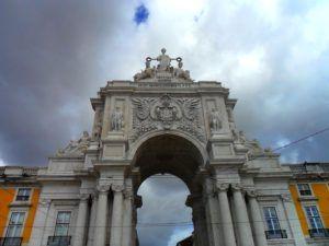 Plaza del Comercio de Lisboa (Portugal)