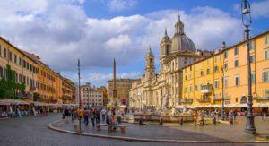 Piazza Navona de Roma (Italia)
