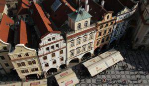 Plaza de la ciudad vieja de Praga (República Checa)