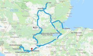 Guatemala en una ruta de 15 días