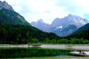 Lago Jasna, Eslovenia