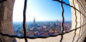 Brujas, vistas desde la Torre Belfort