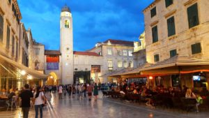 Plaza de la Luza, Dubrovnik