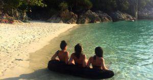 Romantic Beach, Islas Perhentian, Malasia