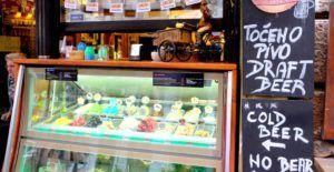 Bares, restaurantes y mucha gastronomia en Liubliana