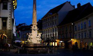 Fuente de los Tres Ríos, Liubliana, Eslovenia