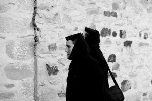 En el Monasterio de Moldovita
